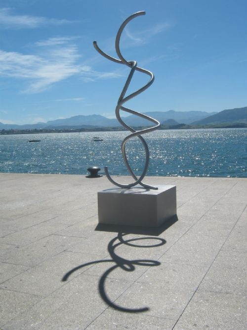 Exhibition of sculptures of large-format outdoor SANTANDER, SPAIN
