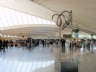 Exhibition of sculptures of large-format on the hall of BILBAO AIRPORT, SPAIN